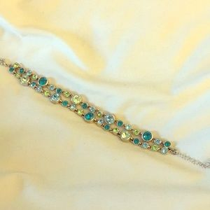 Touchstone Crystal Blue Sky Bracelet